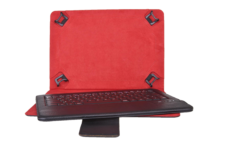 Funda Universal  +  Teclado Bluetooth Phoenix Para Tablet  /  Ipad  /  Ebook 9 Pulgadas Pulgadas-10.