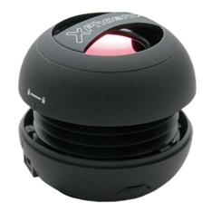 Mini Altavoz Portatil Phoenix Miniboom Universal Jack 3.5mm Con Bateria  Negro PHMINIBOOM