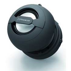 Mini Altavoz Portatil Phoenix Miniboom Universal Bluetooth   /  Jack 3.5mm Con Bateria Negro PHMINIB