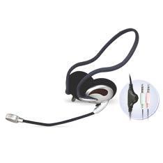 Auriculares Con Microfono Phoenix Stereo Diadema Sport PHMK510MV