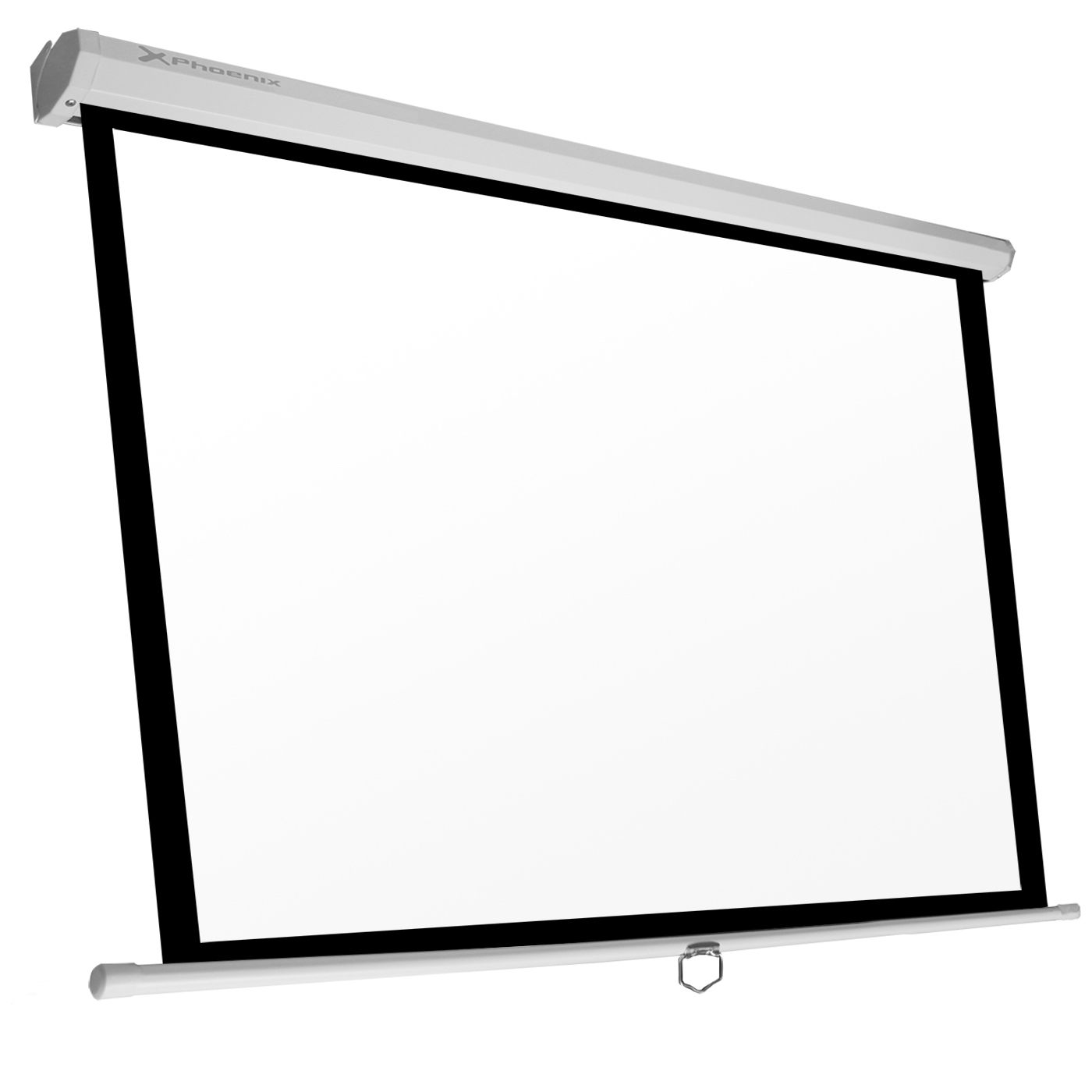 Pantalla Manual Videoproyector Phoenix 135?? 2.4m X 2.4m PHPANTALLA-240