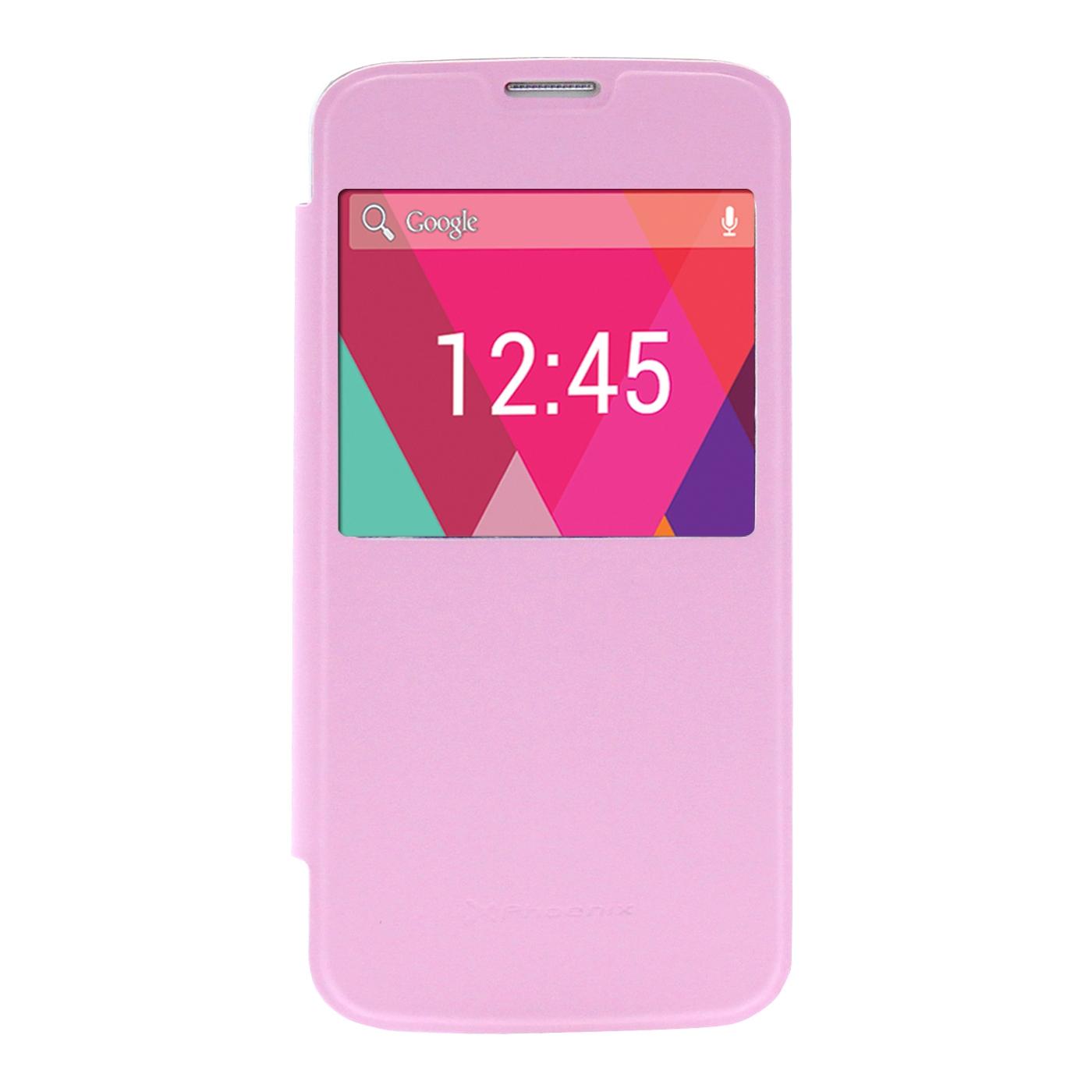 Funda Slim Cover Case  Phoenix Para Telefono Smartphone  Phrockx1 5 Pulgadas Rosa PHROCKX1SLIMCASEP