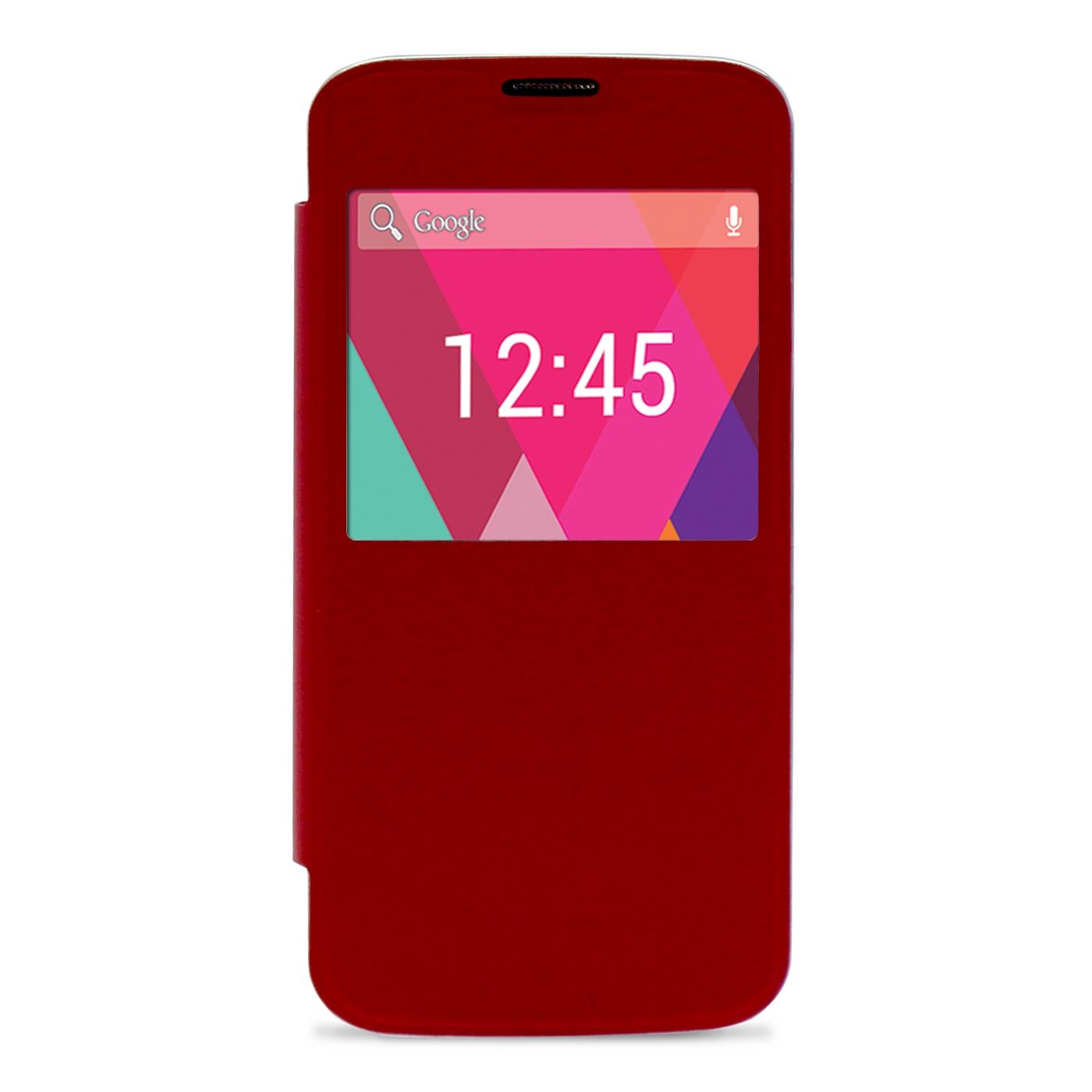 Funda Slim Cover Case  Phoenix Para Telefono Smartphone  Phrockx1 5 Pulgadas Rojo PHROCKX1SLIMCASER