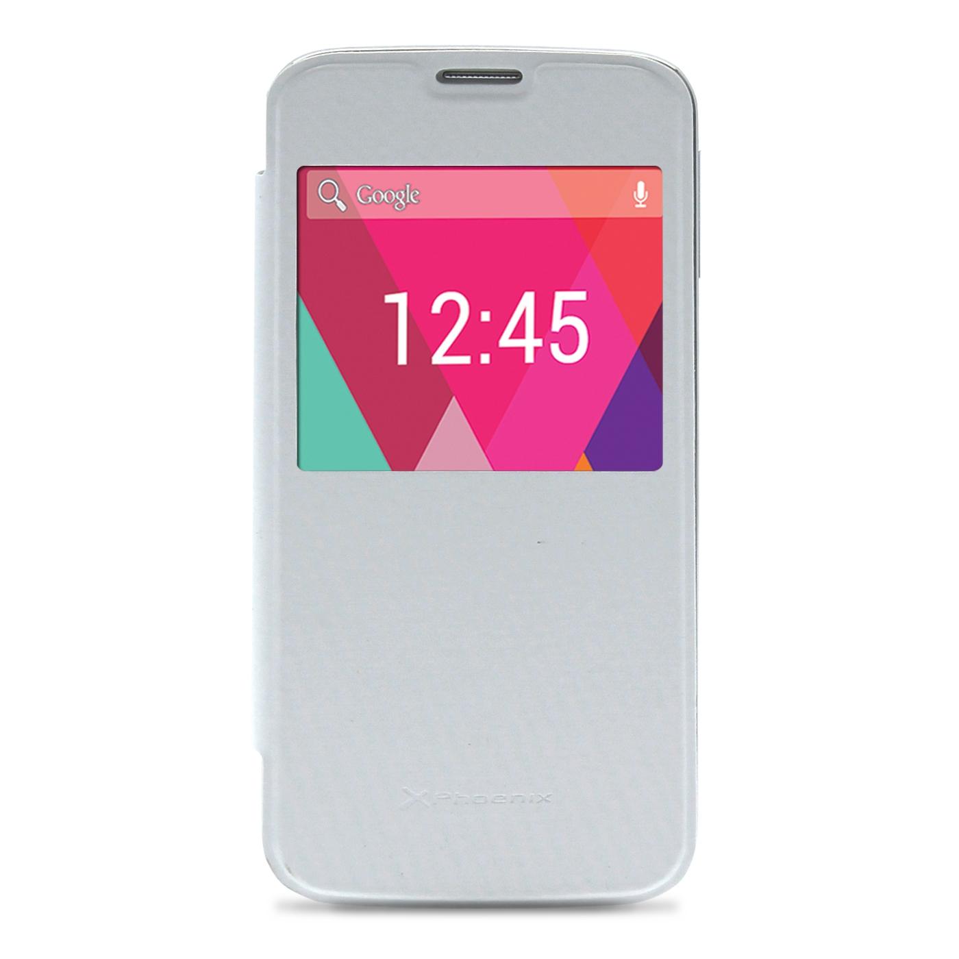 Funda Slim Cover Case  Phoenix Para Telefono Smartphone  Phrockx1 5 Pulgadasblanco PHROCKX1SLIMCASEW