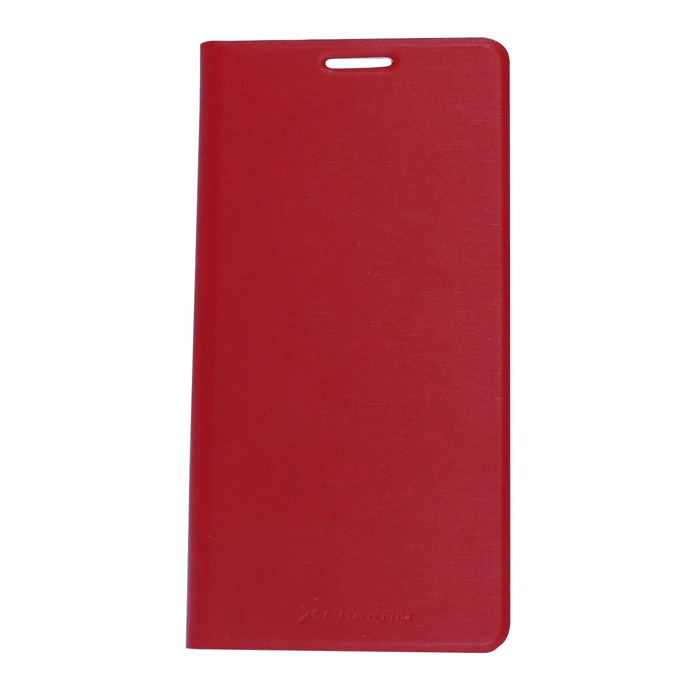 Funda Slim Cover Case Phoenix Para Telefono Smartphone 4.5 Pulgadas Rock Mini Rojo PHROCKXMINICASER