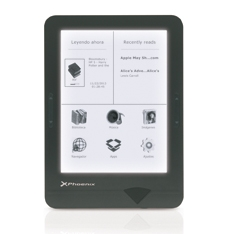 "LIBRO ELECTRONICO PHOENIX EBOOK EINK / TINTA ELECTRONICA / PHOENIX CLEVER 6""  WIFI / TOUCH / FRONT L"