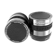 Mini Altavoz Con Radio Portatil Phoenix Bluetooth   /  Micro Sd  /  Jack 3.5mm  /  Metalico  /  Alum