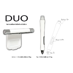 Duo For Laptop Convierte Cualquier Pantalla En Un Tablet Pc Blanco PMNA-01-W