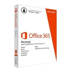Office 365 Personal 1pc / tableta / mac Suscrpcion 1 Año En Caja Junto Pc / portatil QQ2-00049