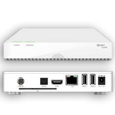 RECEPTOR SATELITE DE SOBREMESA QVIART UNDRO PVR USB, HDD, HDMI LECTOR CONAX,RED, WIFI, 3G