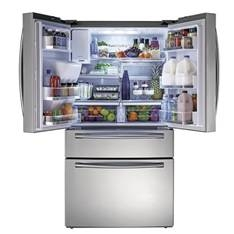 Frigorifico Samsung Americano Side By Side Americano French Door Acero 610l Smart Driver, 4 Puertas,