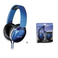 Auriculares Panasonic Rp-hx350 Hdx Street Azul RP-HX350E-A