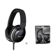Auriculares Panasonic Rp-hx350 Hdx Street Negro RP-HX350E-K