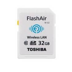 Tarjeta Memoria Secure Digital Sd 32gb Toshiba Wifi Flash Air SD-F32AIR(BL8