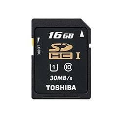 Tarjeta Memoria Secure Digital Sd 16gb Toshiba Uhs C10 SD-T016UHS1(BL5