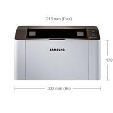 Impresora Samsung Laser Monocromo Sl-m2022 A4 /  20ppm /  128mb /  Usb 2.0 /  150 Hojas /  Boton Imp