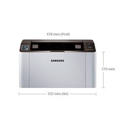 Impresora Samsung Laser Monocromo Sl-m2022w A4 /  20ppm /  128mb /  Usb 2.0 /  150 Hojas /  Boton Im
