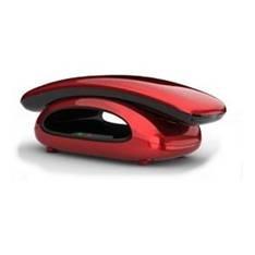 Telefono Inalambrico Dect Aeg Solo 10 Display Lcd, Rojo SOLO10ROJO