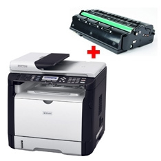 Multifuncion Laser Moniocromo Ricoh Sp311sfn 1200 X 600 28 Ppm  +  Toner SP311SFN+TONER