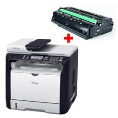 Multifuncion Laser Monocromo Ricoh Sp311sfnw 1200 X 600  28ppm  Fax Red Wifi  +  Toner SP311SFNW+TON