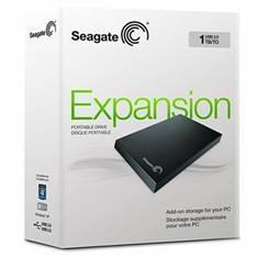 Disco Duro Externo Hdd Seagate 1tb Stor.e Expansion  2.5 Pulgadas Usb 3.0, Negro STBX1000201