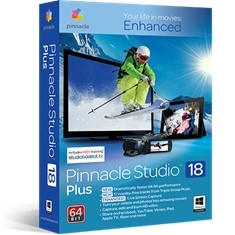 Software De Edicion De Video Pinnacle Studio V.18 Plus STUDIO18PLUS