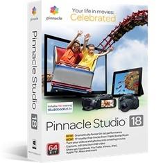 Sortware De Edicion De Video Pinnacle Studio V.18  Standard STUDIO18STD
