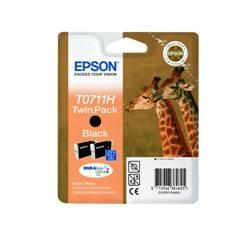 PACK 2 TINTAS EPSON T07114H10 NEGRO