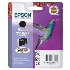CARTUCHO TINTA EPSON T0801 NEGRO 7.4ML