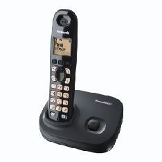 Telefono Inalambrico Lcd Panasonic Kx-tg7301sps, Negro TG7301SPB