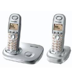 Telefono Inalambrico Lcd Panasonic Kx-tg7302sps, Plata, Duo TG7302SPS