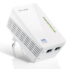 Adaptador De Red Wifi Linea Electrica 500 Mbps Power Line Tp-link TL-WPA4220