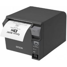 Impresora Ticket Epson Tm-t70ii Termica Directa Usb  +  Red Ethernet Negra TMT70IIU+RED