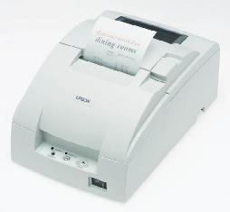 Impresora Ticket Epson Tm-u220pd Blanca Paralelo TMU220