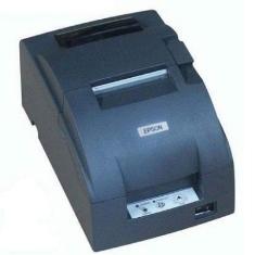 Impresora Ticket Epson Tm-u220d Negra Serie TMU220SERIENEGRA