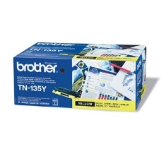 TONER BROTHER TN135Y AMARILLO 4000 PÁGINAS