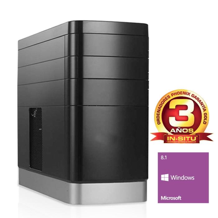 Ordenador Phoenix Topvalue Intel Pentium Dual Core 3250, 4gb Ddr3, 500 Gb, Rw, W8.1 TOPVALUE2-2315W
