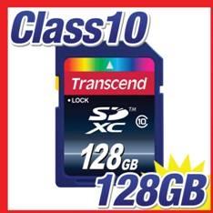 Tarjeta Memoria Secure Digital Sd 128gb Transcend Xc 10 25mb / s TS128GSDXC10
