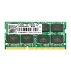 Memoria Portatil Ddr3 2gb 1066 Mhz Pc8500 256mx8 Transcend TS256MSK64V1N
