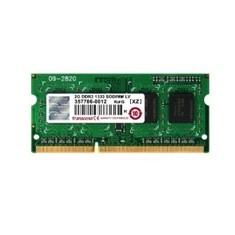Memoria Ddr3l 2gb 1333 Mhz 1.35v Cl9 Transcend TS256MSK64W3N