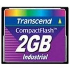 Tarjeta Memoria Compact Flash Industrial 2gb 100x Transcend TS2GCF100I