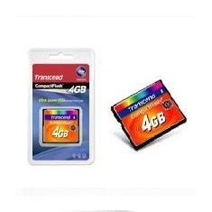 Tarjeta Memoria Compact Flash 4gb Transcend 133x TS4GCF133