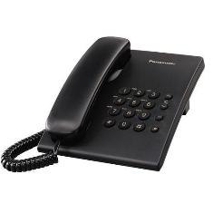 Telefono Sobremesa Panasonic Kx-ts500exb, Negro Basico TS500EXB