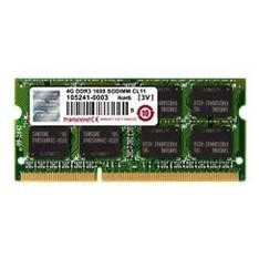 Memoria Portatil Ddr3 4gb 1600 Mhz Pc12800 256mx8 Transcend TS512MSK64V6N