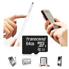 Tarjeta Memoria Micro Secure Digital Sd Xc 64gb Uhs-i Clase 10 300x Premium Adaptador Sd Transcend T