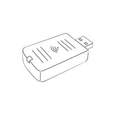 Wireless Lan Epson  Para  Eb-1760w / 1770w / 1775w V12H418P13
