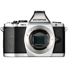 Camara Digital Olympus Om-d E-m5 Plata 16mp (cuerpo) Iso Hasta 25600 Full Hd Lcd 3 Pulgadas Abatible