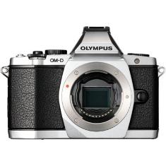 Camara Digital Olympus Om-d E-m5 Plata 16mp (cuerpo) Iso Hasta 25600 Full Hd Lcd 3 Pulgadas Abatible