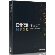 Office Mac Home & Busines 2011 Español W6F-00196