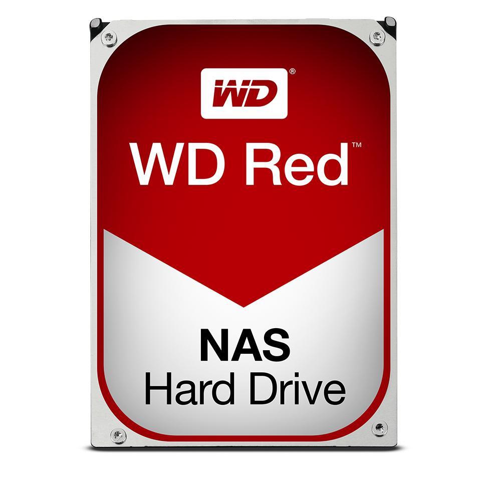 Disco Duro Interno Hdd Wd Nas Red Wd40efrx 4 Tb 4000gb 3.5 Pulgadas, Sata 3, 7200rpm, 64mg WD40EFRX